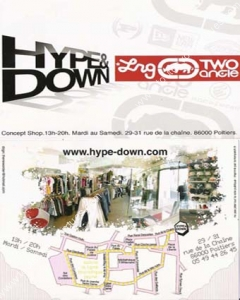 www.toutesvosmarques.com présente : HYPE & DOWN, 2 TWO, NEW ERA